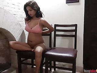 Indian Teen Masturbating Before Possessions Fucked