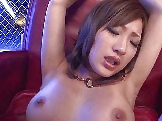 Naked Aika fucked blind folded and jizzed on tits - More at